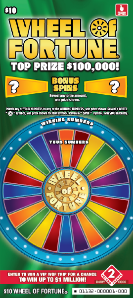 Wheel Of Fortune $10
