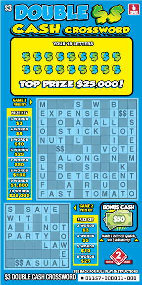 Double Cash Crossword