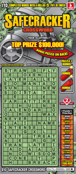 Safecracker Crossword