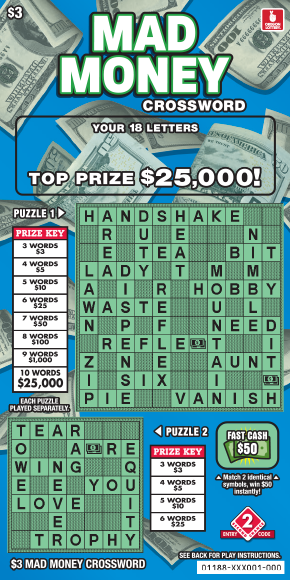 Mad Money Crossword