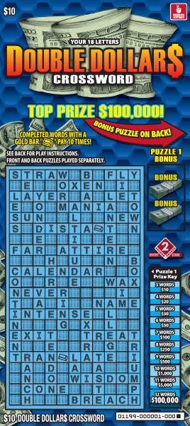 Double Dollar$ Crossword